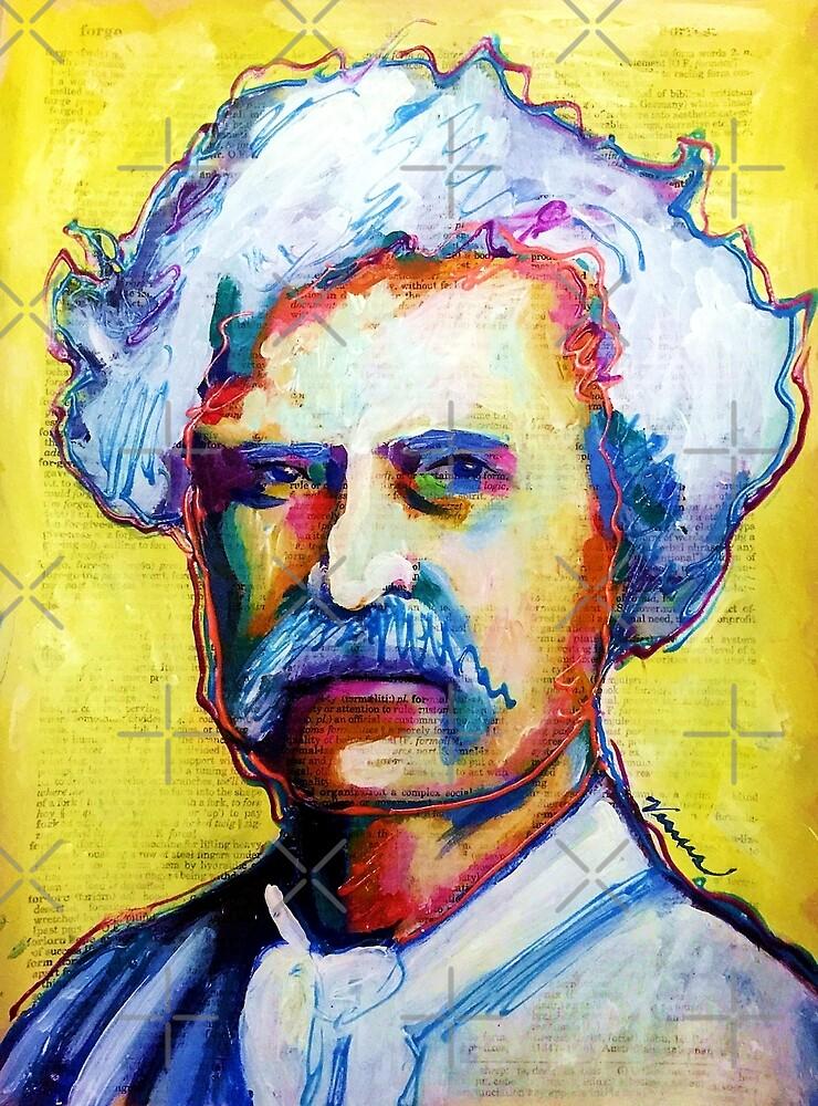 Mark Twain by VenusArtist