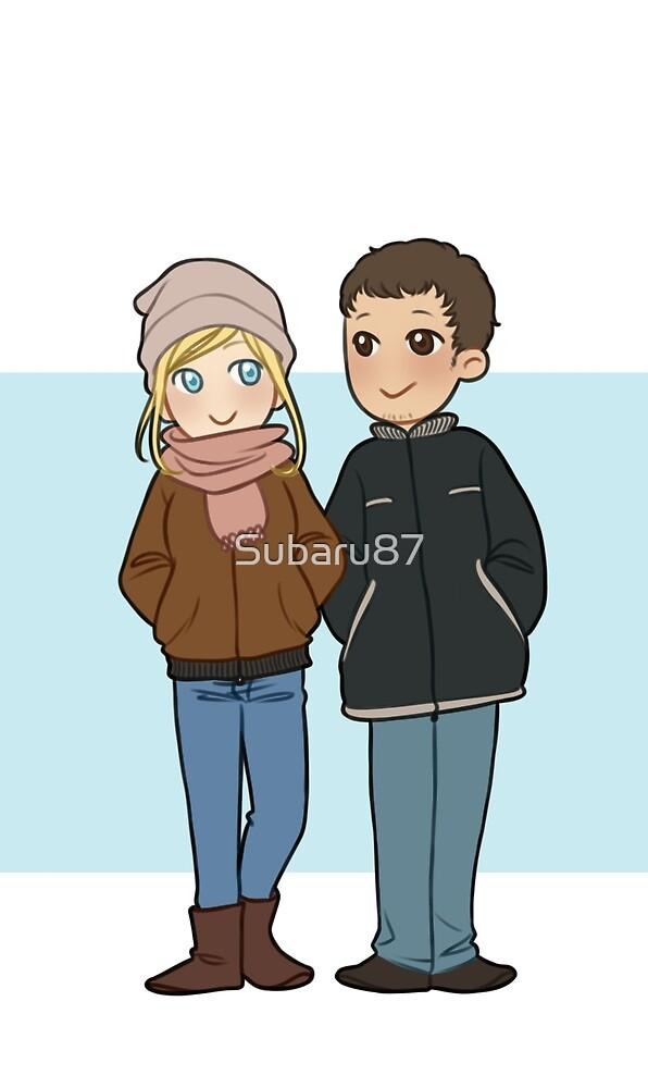 Desmond & Lucy by Subaru87