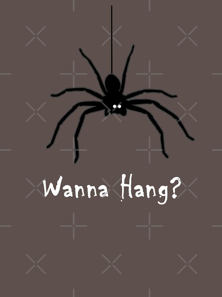 Wanna Hang Spider by transferarts