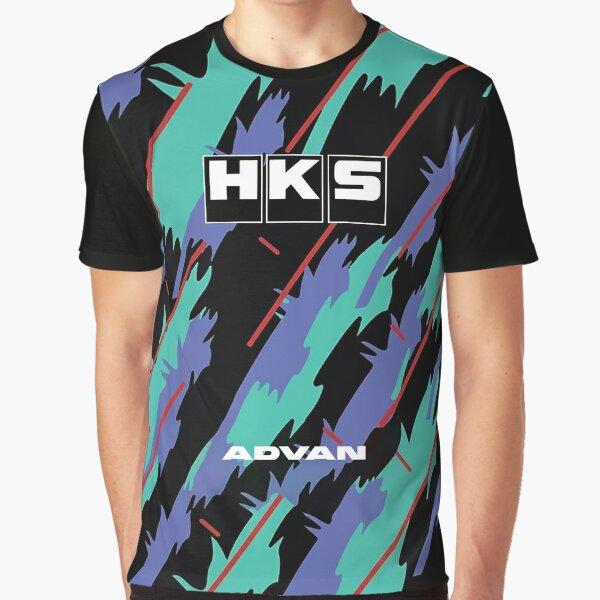 HKS Advan JDM Grafik T-Shirt