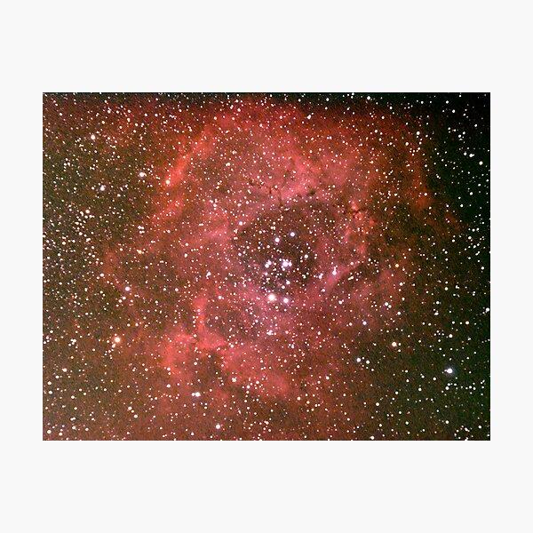 rosette nebula Photographic Print