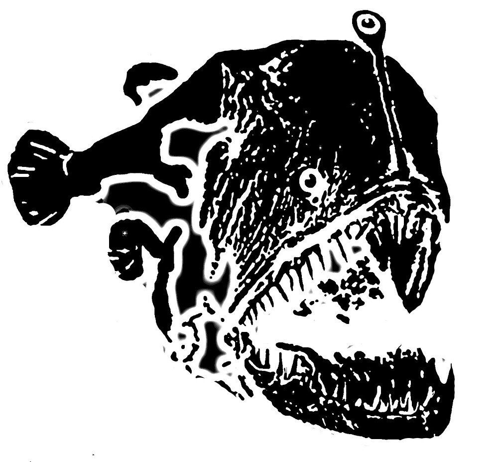 Lady Anglerfish by ccrippen
