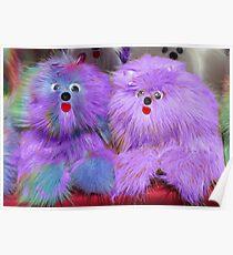 Purple Plush Toys  Poster