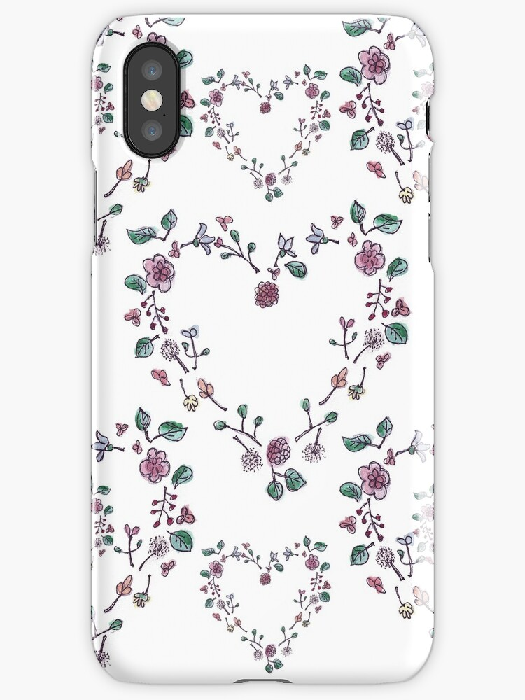 Floral Hearts by Inesse