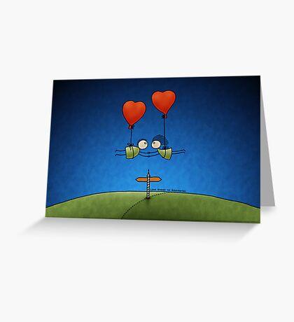 Love Knows No Boundaries Greeting Card