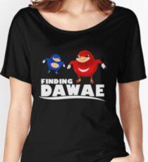 Finding Da Wae Shirt - Ugandan Knuckles Shirt Women's Relaxed Fit T-Shirt
