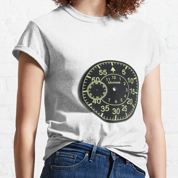 Old Russian stopwatch's dial Classic T-Shirt