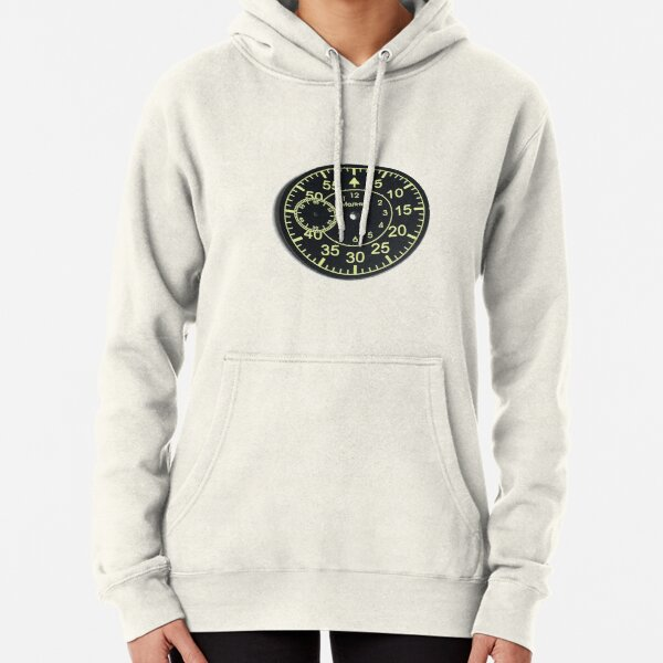 Old Russian stopwatch's dial Pullover Hoodie