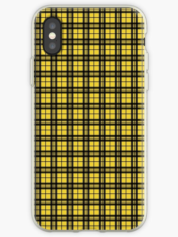 Yellow/Black Plaid by sidebar