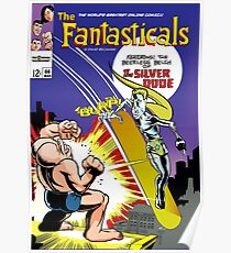 The Fantasticals vs Peerless Silver Dude Poster