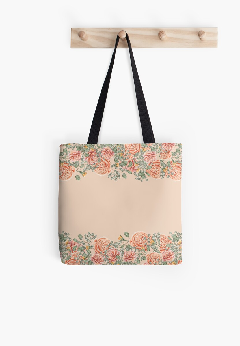 Pink Pastel Roses by Bleshka-Design