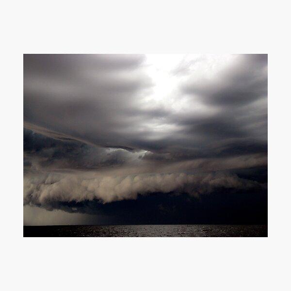 Nasty Storm Photographic Print