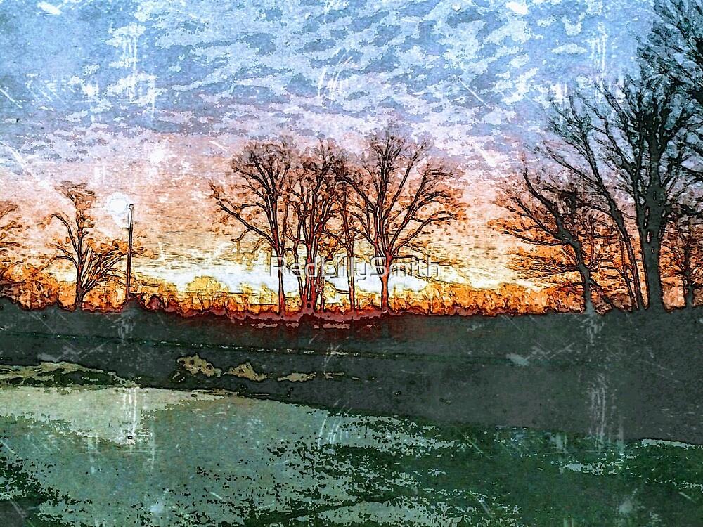 Firey Sunrise by RedLillySmith