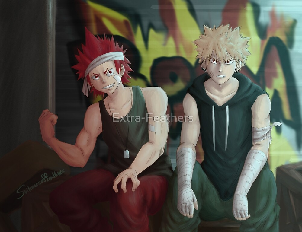 BAKUGOU ONLY (from Kiribaku piece) BNHA by Extra-Feathers