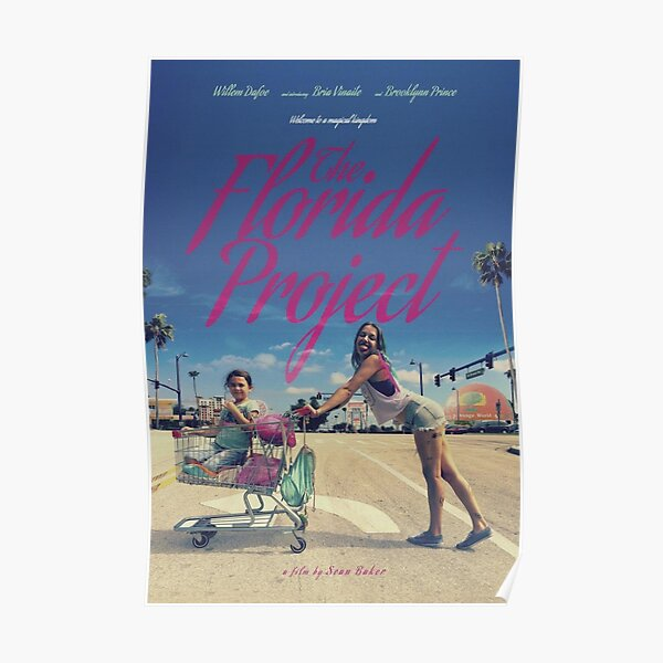 The Florida Project Girls Poster