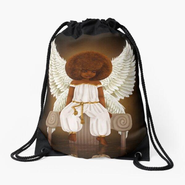 Little Angel Drawstring Bag