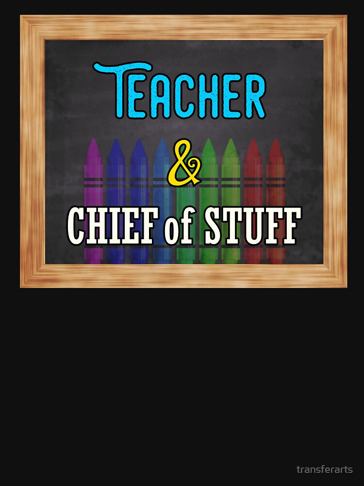 Teacher and Chief of Stuff by transferarts