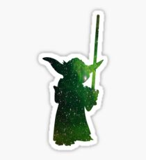 Yoda Galaxy Sticker