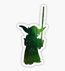 Yoda Galaxy Sticker