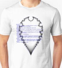Self documenting inverted mandelbrot   T-Shirt