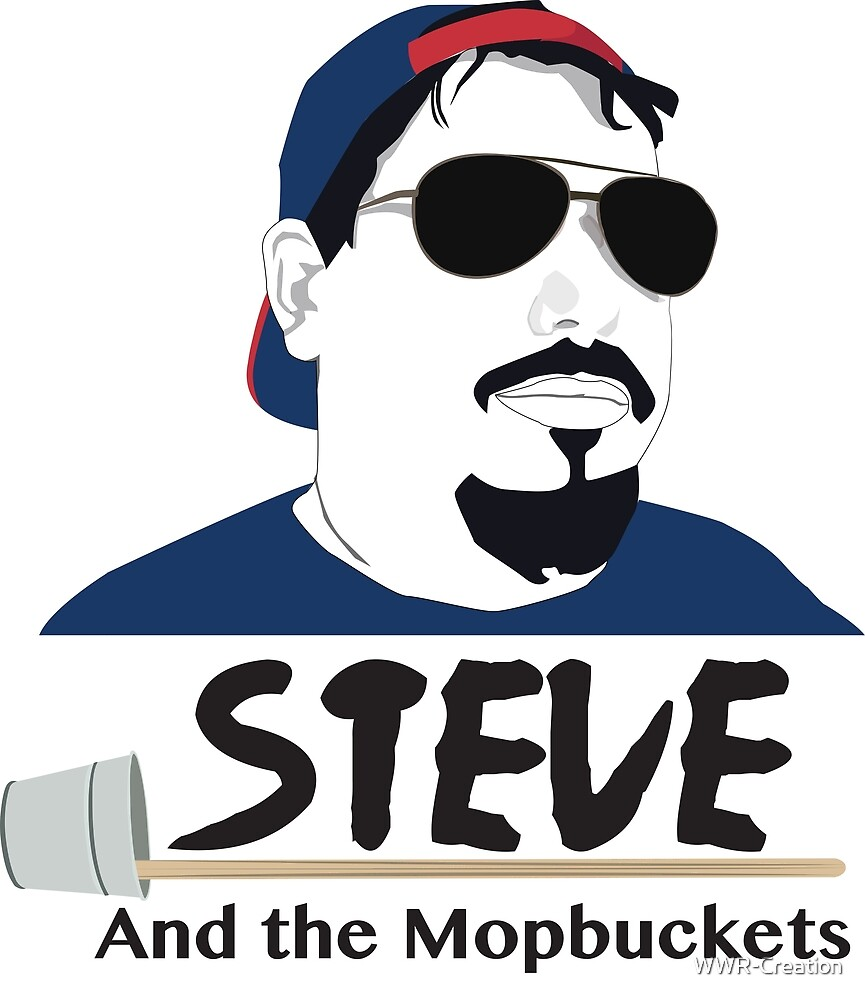 Steve and the mopbuckets by WWR-Creation