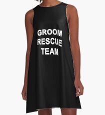 Groom Rescue Team  A-Line Dress