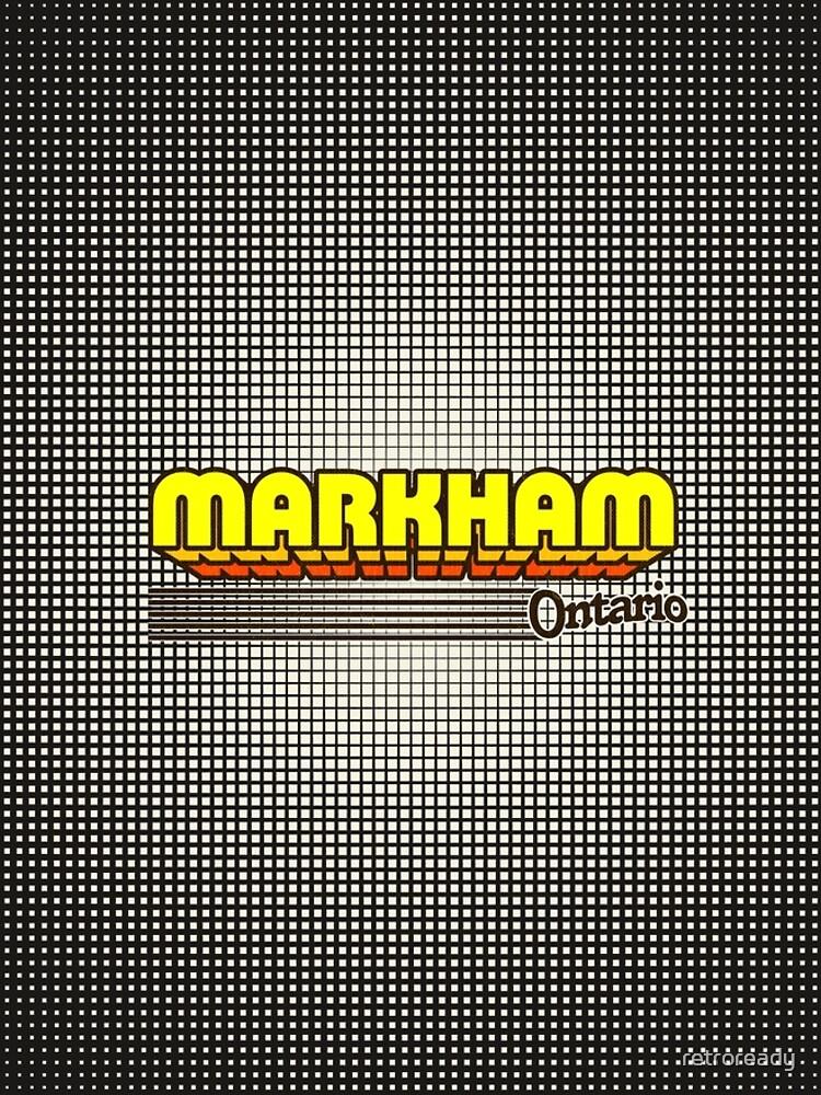 Markham, Ontario | Retro Stripes by retroready