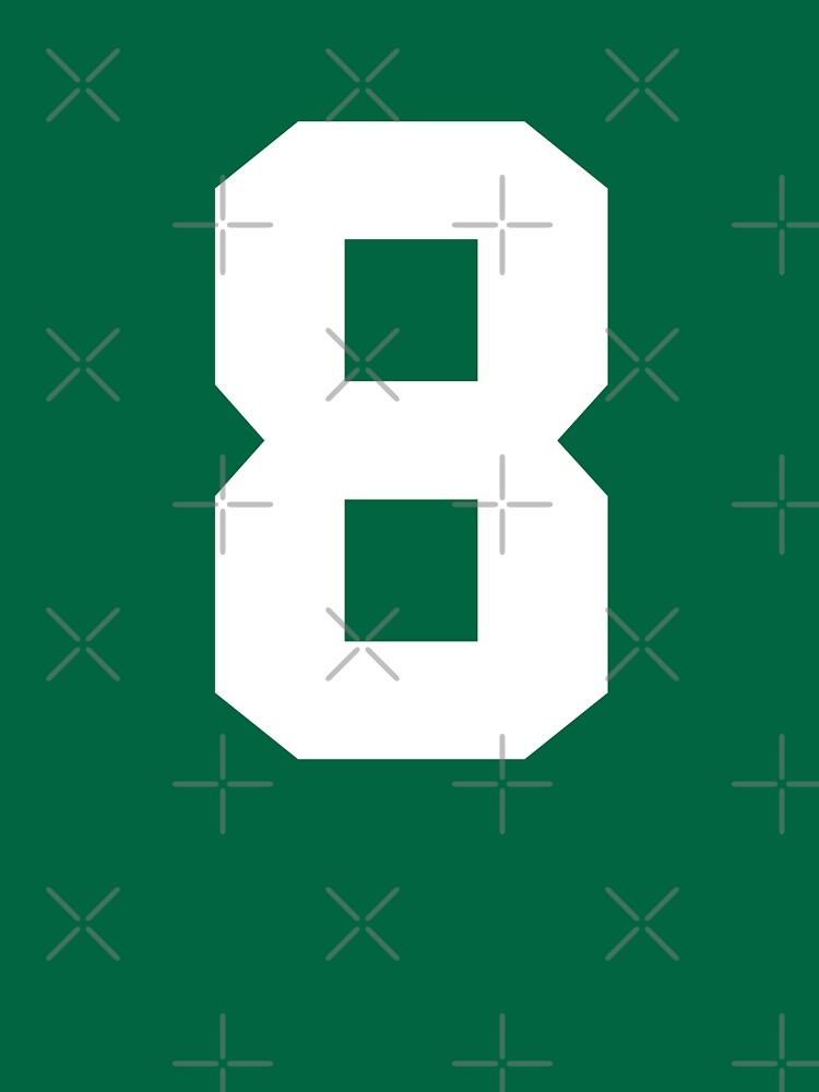 8. Number eight on shirts and stuff. by Swaygo