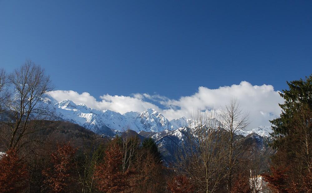 Snowy Mountains, Italy  by jojobob