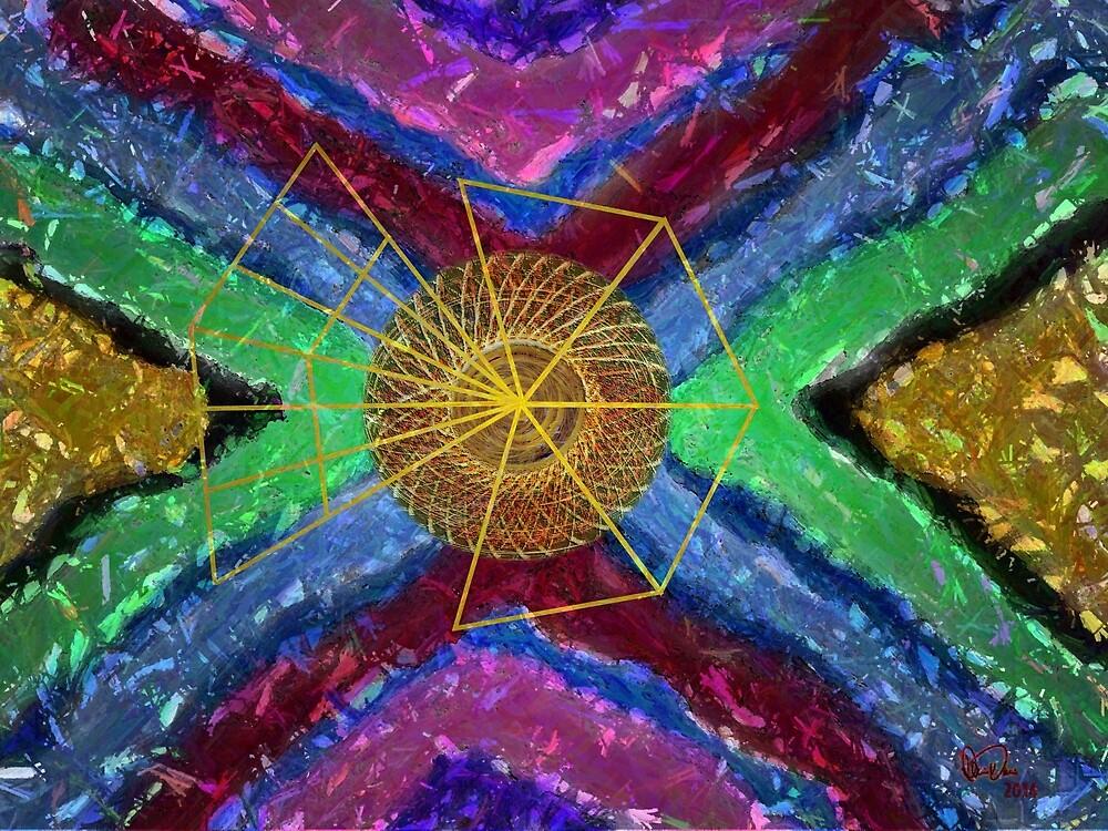 Geometric Abstract No. 3 by Dennarto