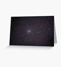 M37 salt and pepper cluster Greeting Card