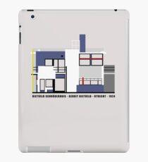Rietveld Schroderhuis Architecture Tshirt iPad Case/Skin