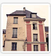Paris in Pink Facade  Sticker