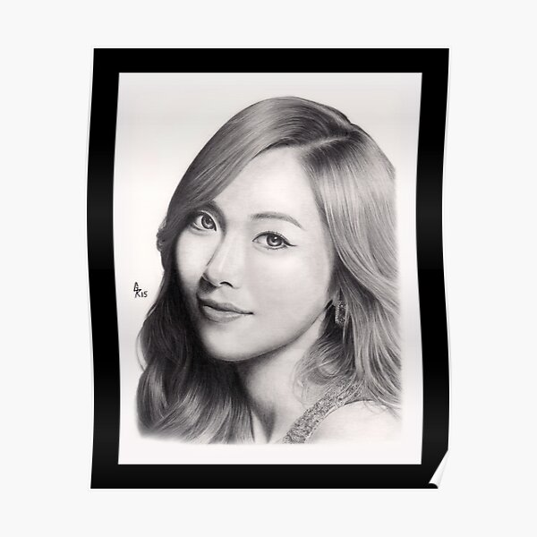 Girls' Generation Jessica Jung Poster