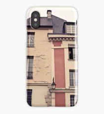 Paris in Pink Facade  iPhone Case/Skin