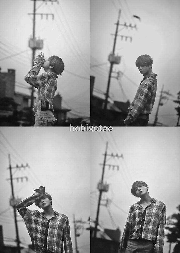 BTS V Kim Taehyung Poster T-Shirt Sticker Notebook Bangtan 뷔 김태형 방탄소년단 by hobixotae