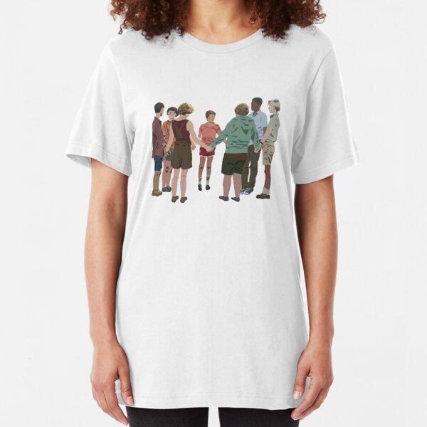 the losers club - blood oath Slim Fit T-Shirt