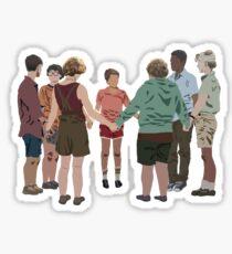 it - the losers club - blood oath Sticker