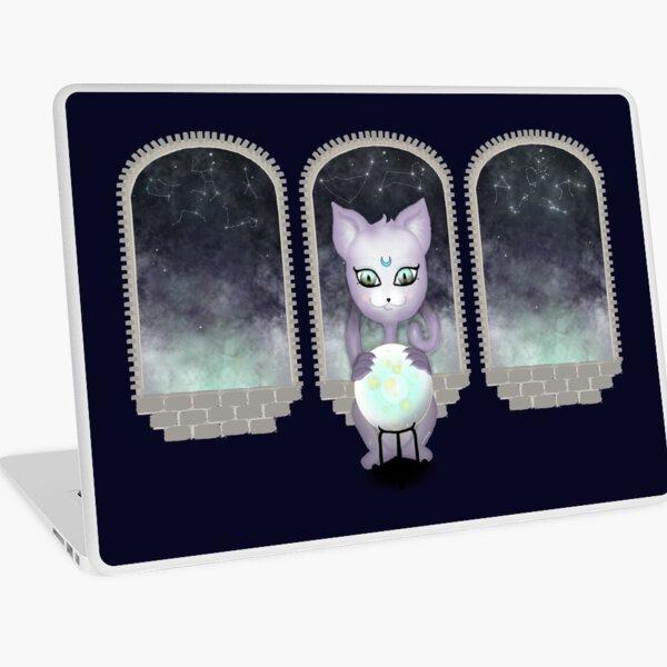 Mystic Miku   Crystal Ball & Zodiac   Navy Laptop Skin