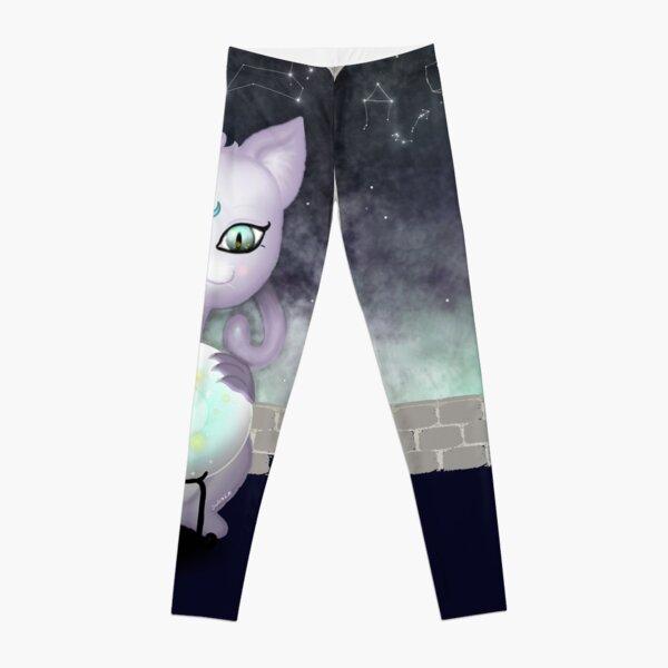 Mystic Miku   Crystal Ball & Zodiac   Navy Leggings