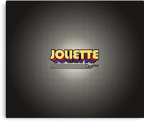 Joliette, Québec | Retro Stripes by retroready