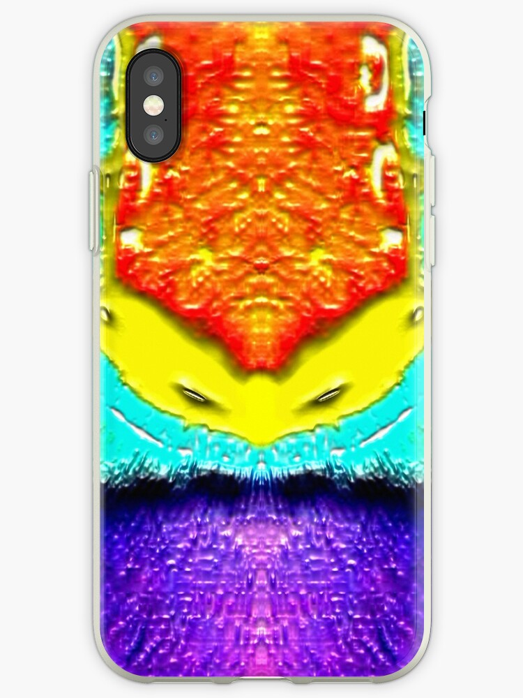 Psychedelic Finch Feathers by JLHDesign