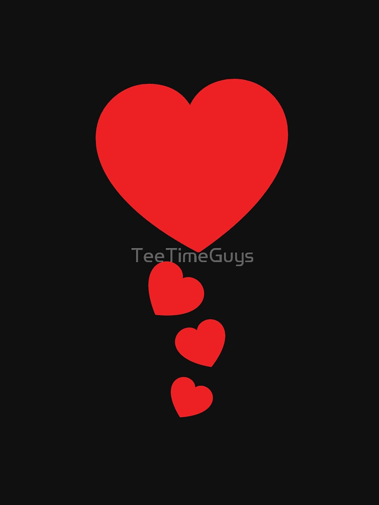 Cool Valentines Day Hearts  by TeeTimeGuys