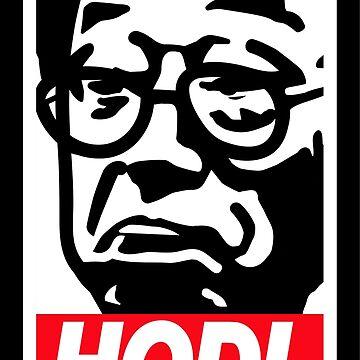 Hodl - Satoshi Nakamoto Bitcoin Meme  by vintagegraphic