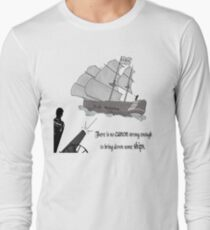 """""""There is no Canon strong enough to bring down some Ships"""" T-Shirt"""