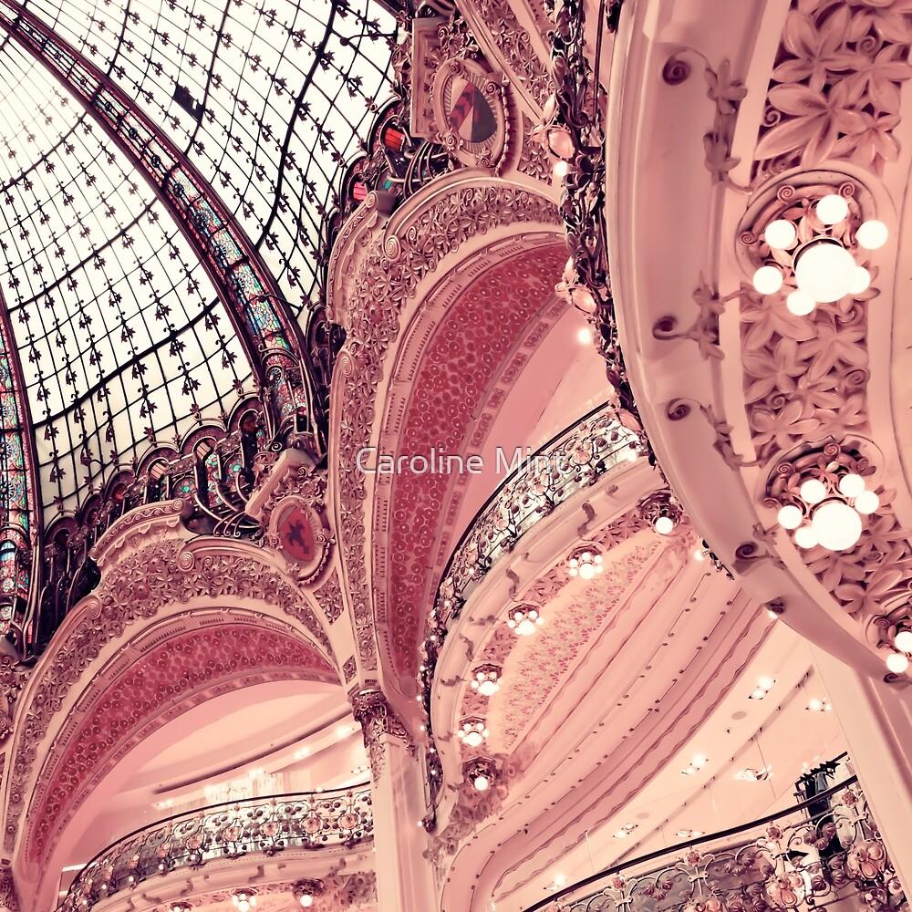 Paris Pink Lafayette Ceiling  by Caroline Mint