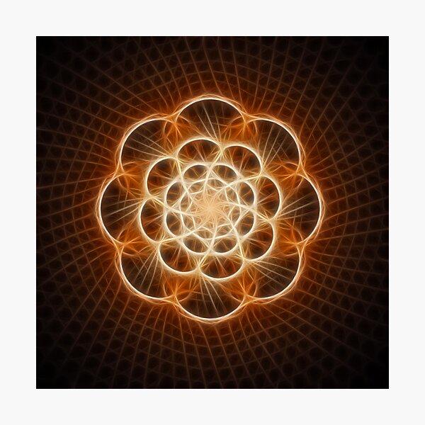 cosmic flower Photographic Print