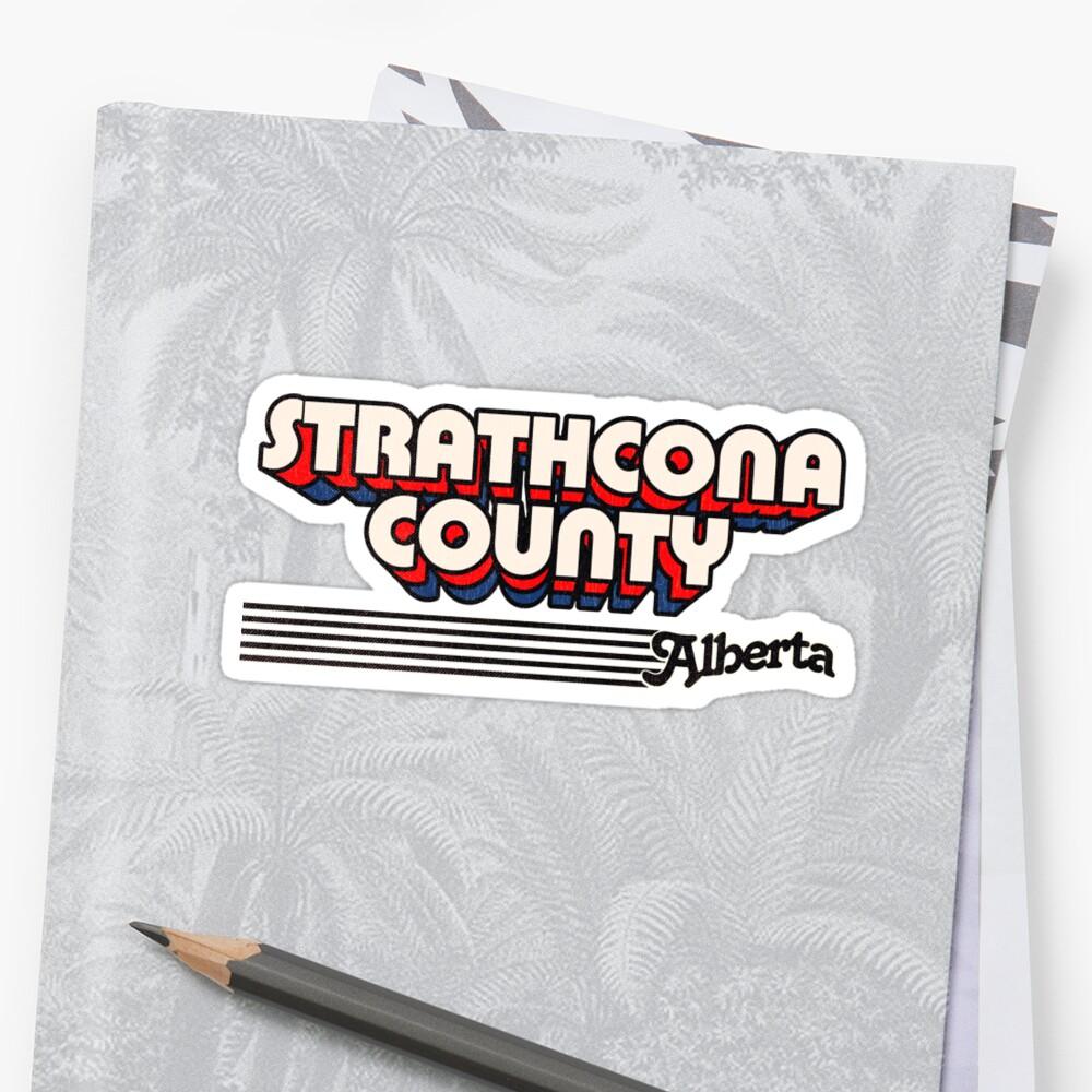 Strathcona County, Alberta   Retro Stripes by retroready