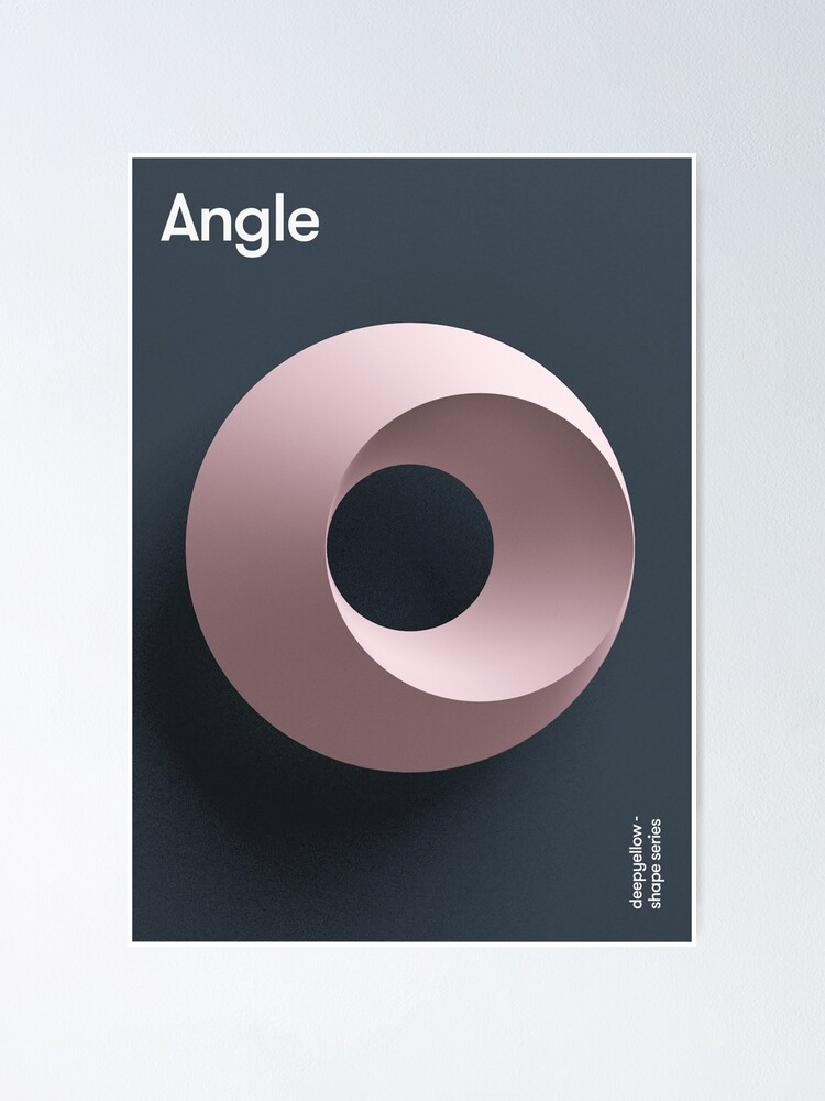 Alternate view of Angle Poster