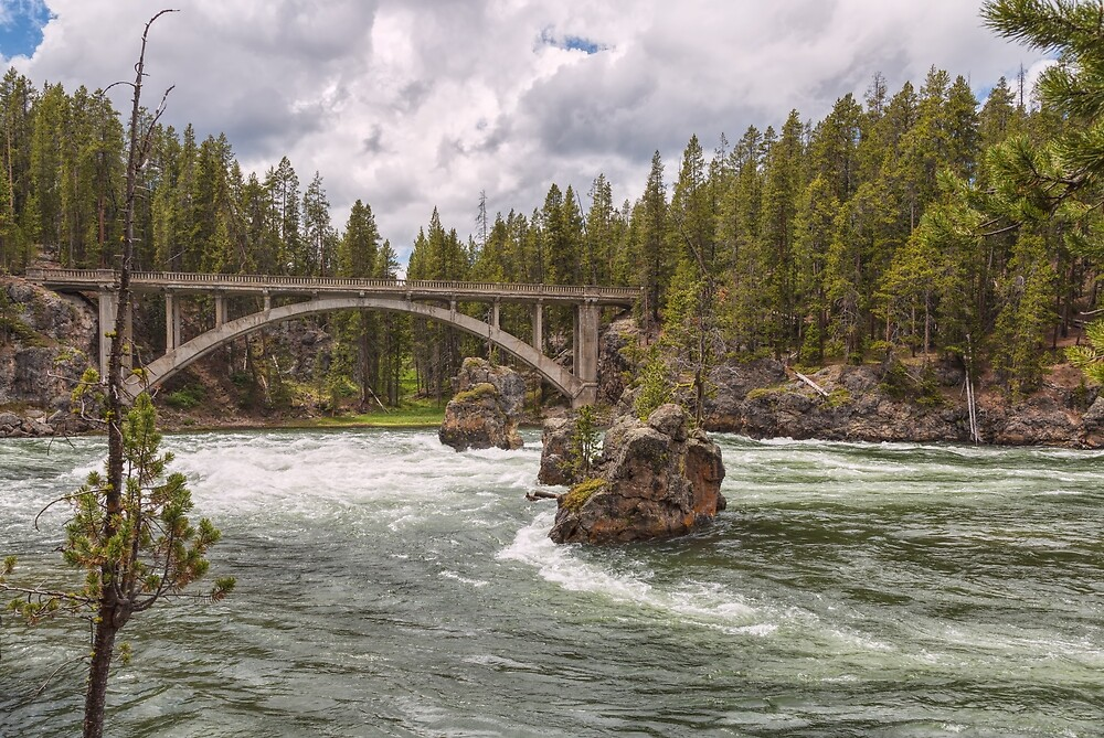 The Old Canyon Bridge by John Bailey